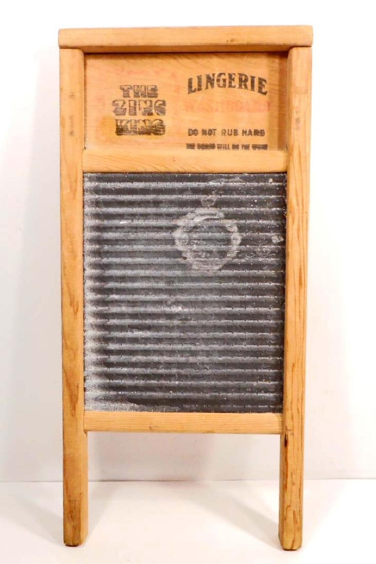 THE ZING KING LINGERIE SMALL PRIMITIVE WASHBOARD