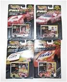 LOT OF 4 VINTAGE HOT WHEELS NASCAR CARS IN ORIGINAL