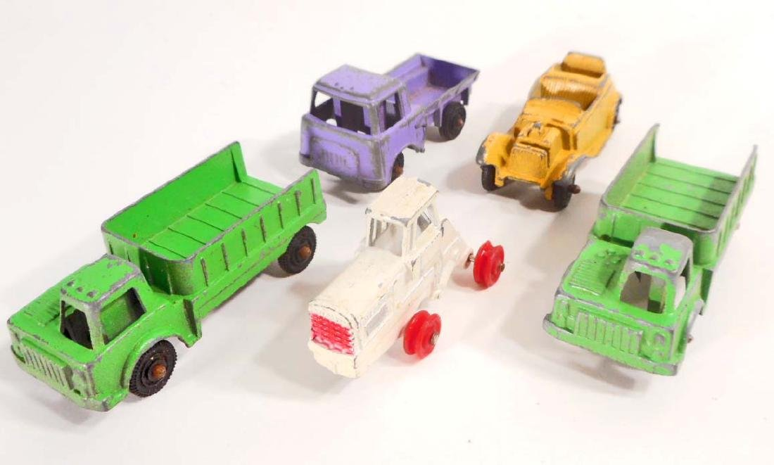 LOT OF 5 VINTAGE TOOTSIE TOY CARS