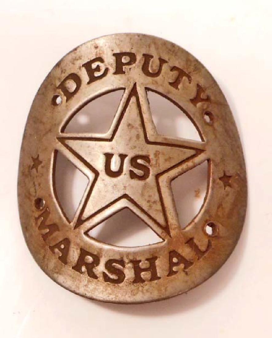 US DEPUTY MARSHALL GUN TAG / PLAQUE
