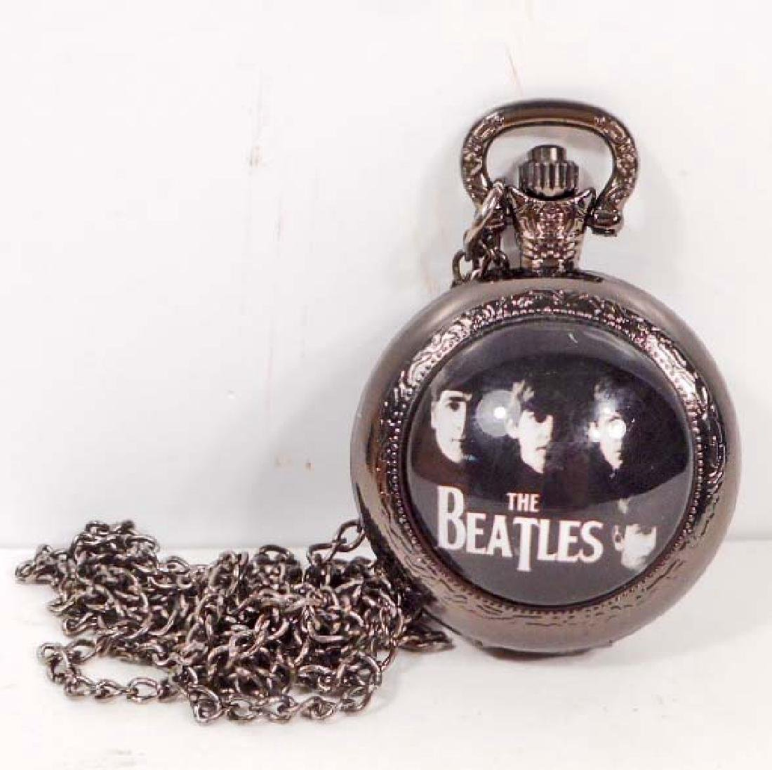 THE BEATLES POCKET WATCH W/ CHAIN