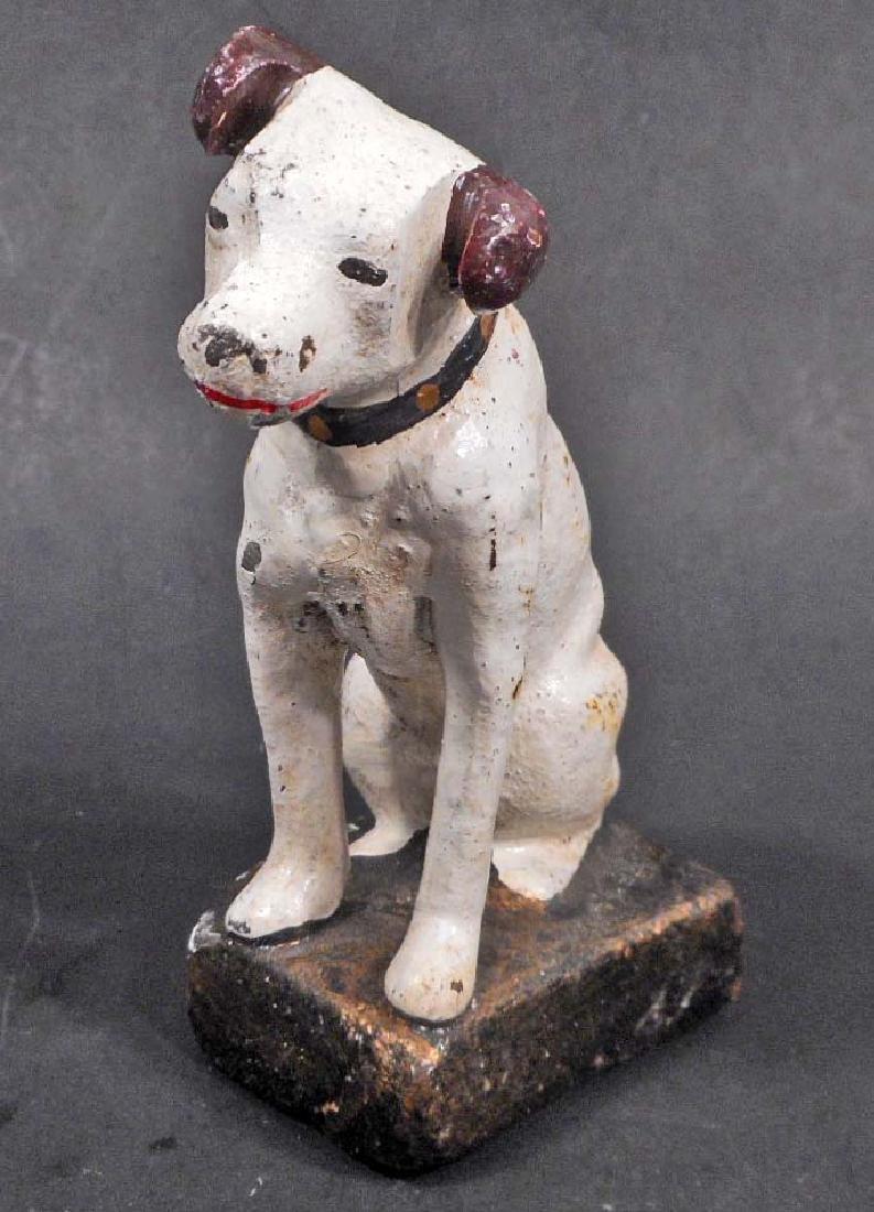 CAST IRON NIPPER DOG FIGURE