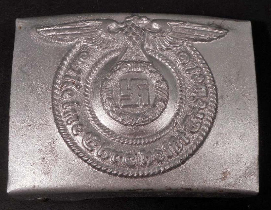 GERMAN NAZI WAFFEN SS SHULTZSTAFFEL COMBAT EM BELT