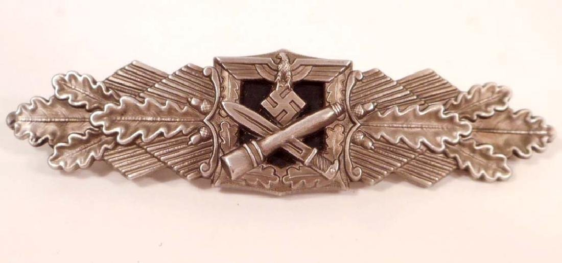 GERMAN NAZI ARMY SILVER CLOSE COMBAT CLASP