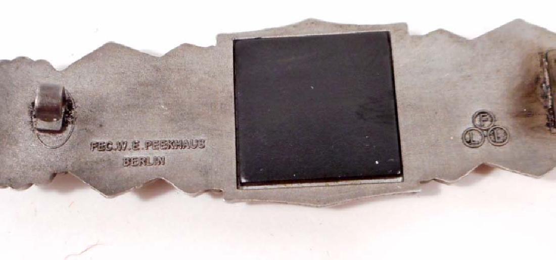 GERMAN NAZI ARMY SILVER CLOSE COMBAT CLASP - 2