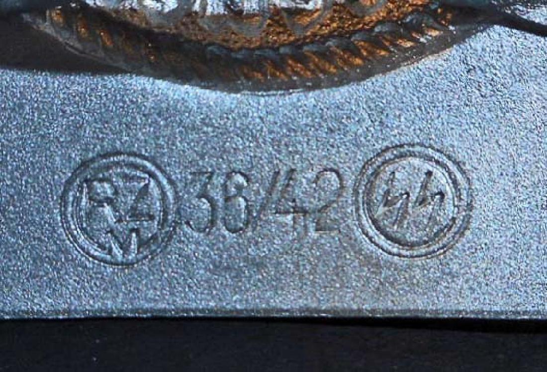 GERMAN NAZI WAFFEN SS ENLISTED MANS COMBAT BELT BUCKLE - 3