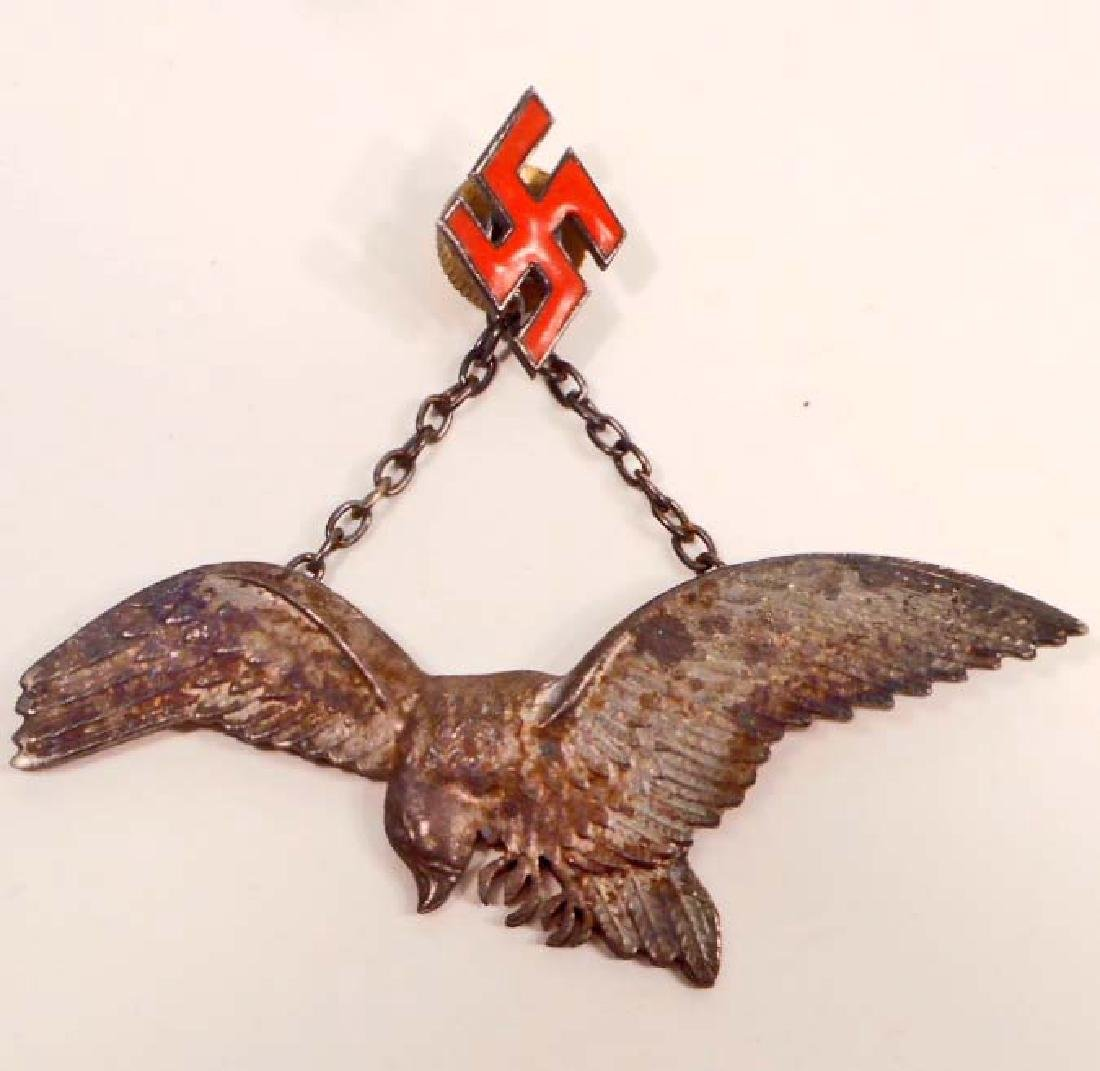 GERMAN NAZI POLISH LUFTWAFFE AXIS PILOT BADGE