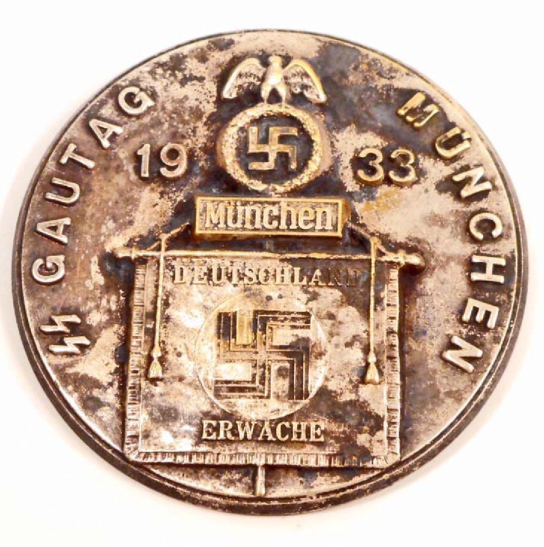 GERMAN NAZI WAFFEN SS GAUTAG MUNCHEN DEUTSCHLAND
