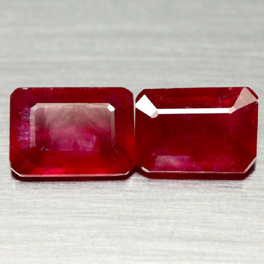 LOT OF 3.34 CTS. OF RED MADAGASCAR RUBY