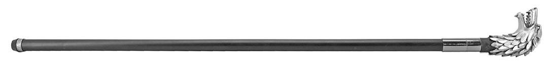 GAME OF THRONES PEWTER DIRE WOLF CANE SWORD - 3