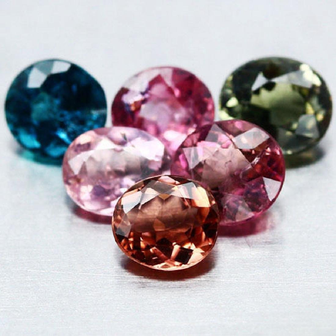LOT OF 5.51 CTS. OF FANCY COLOR NIGERIAN TOURMALINE -