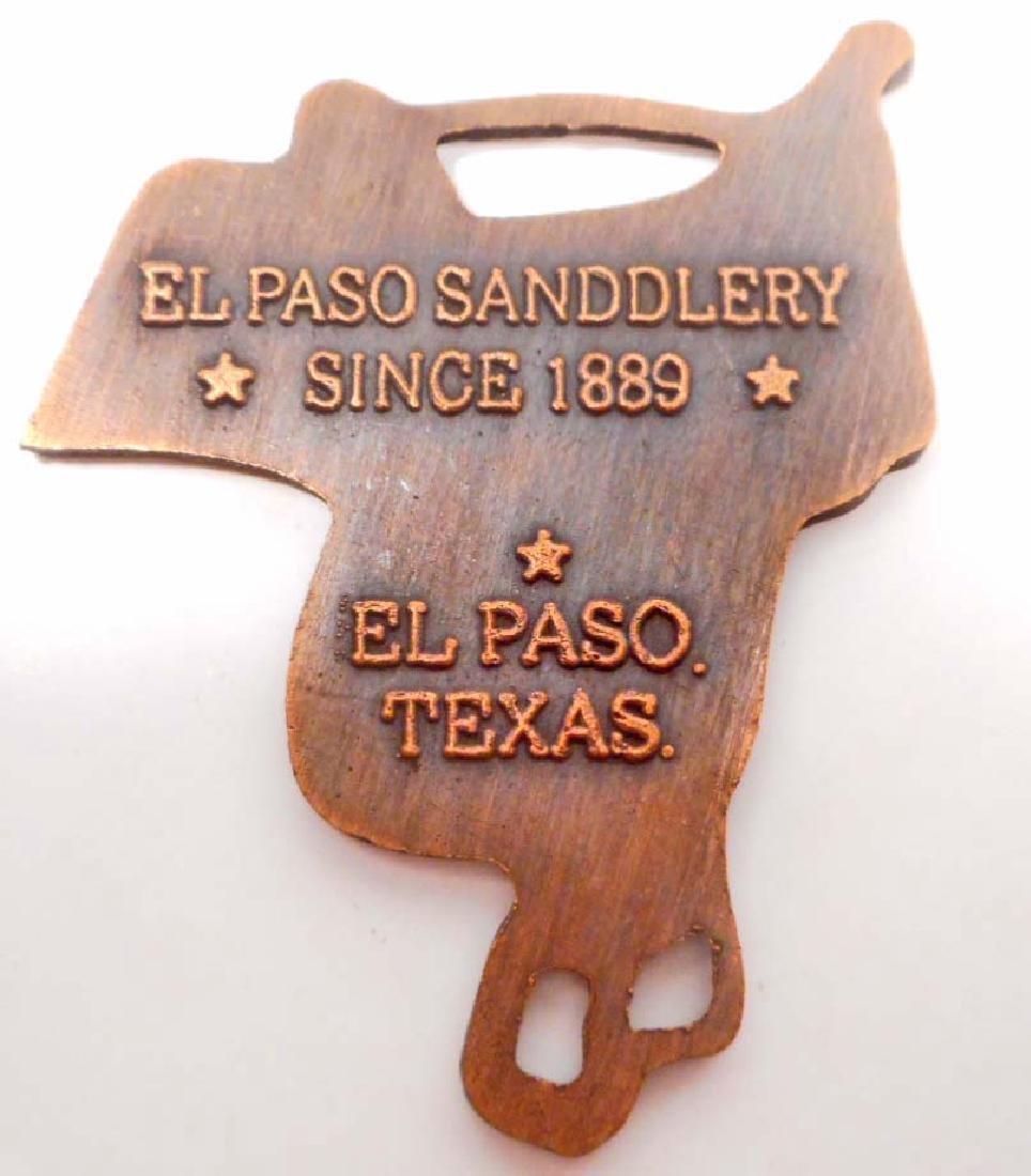 EL PASO SADDLERY COPPER WATCH FOB - 2