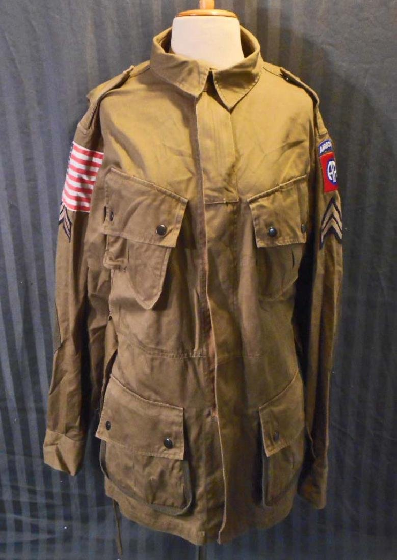 US ARMY 82ND AIRBORNE PARATROOPER COMBAT JUMP JACKET