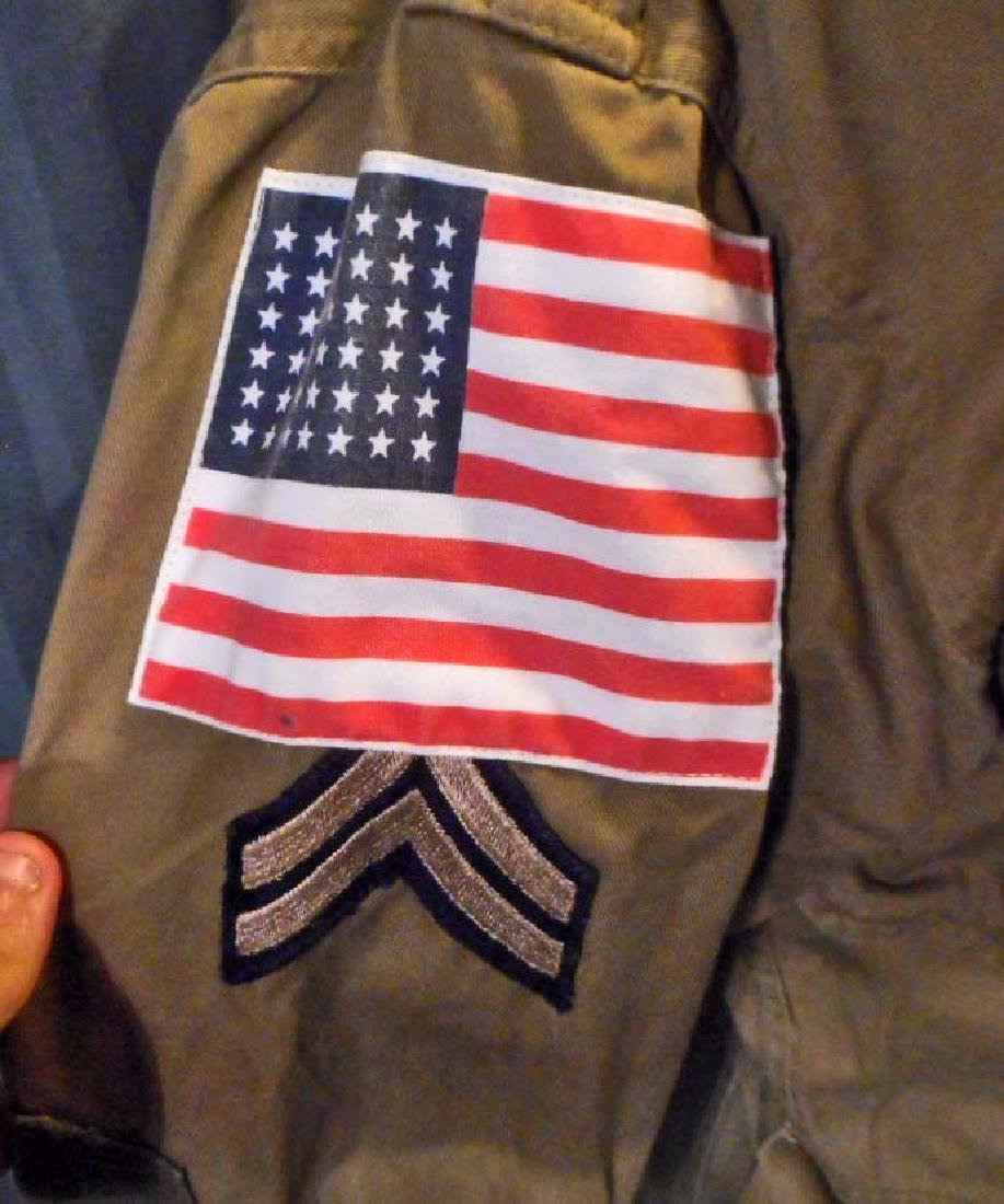 US ARMY 82ND AIRBORNE PARATROOPER COMBAT JUMP JACKET - 2