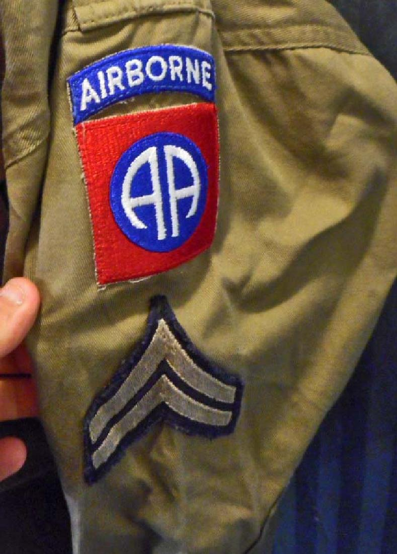 US ARMY 82ND AIRBORNE PARATROOPER COMBAT JUMP JACKET - 3
