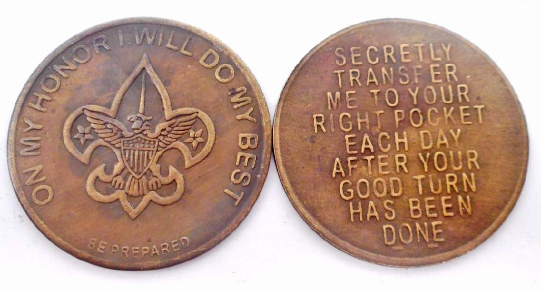 BOY SCOUT POCKET COIN