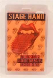 1994-95 ROLLING STONES WORLD TOUR LAMINATED BACKSTAGE
