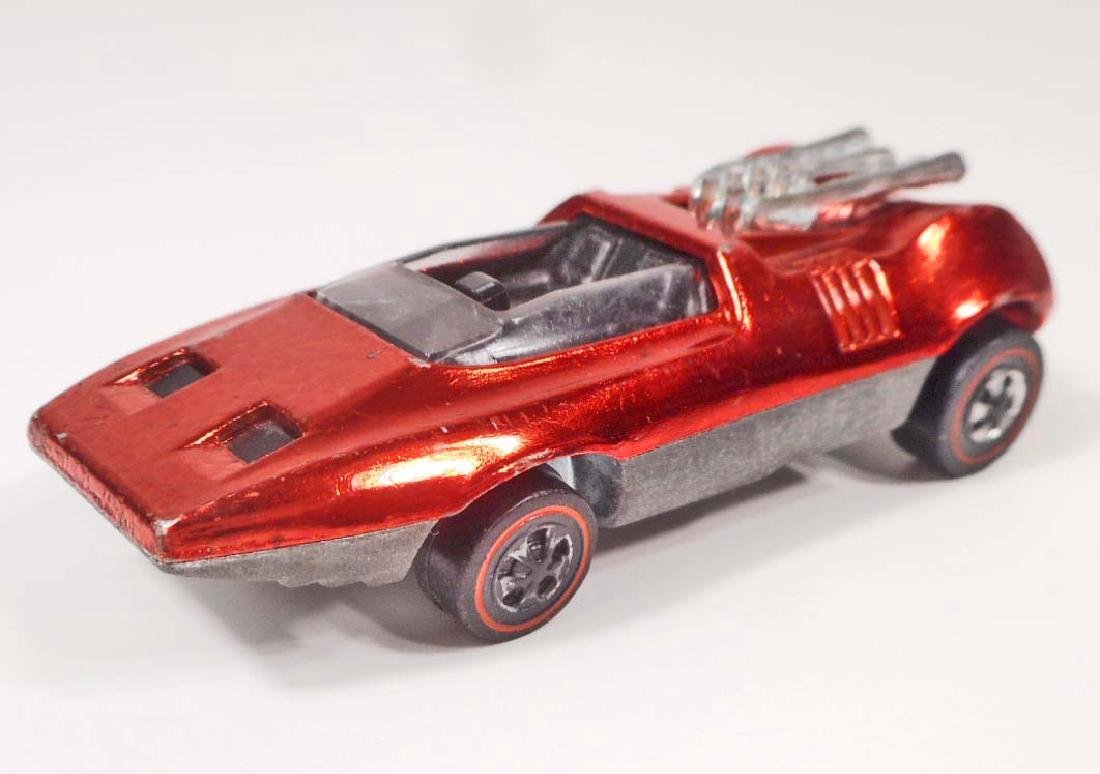VINTAGE RED LINE HOT WHEELS PEEPING BOMB TOY CAR