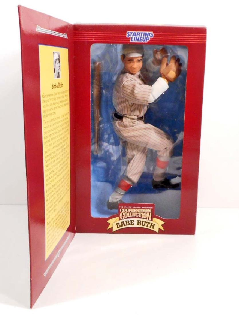 VINTAGE BABE RUTH FULLY POSEABLE FIGURE IN ORIGINAL BOX