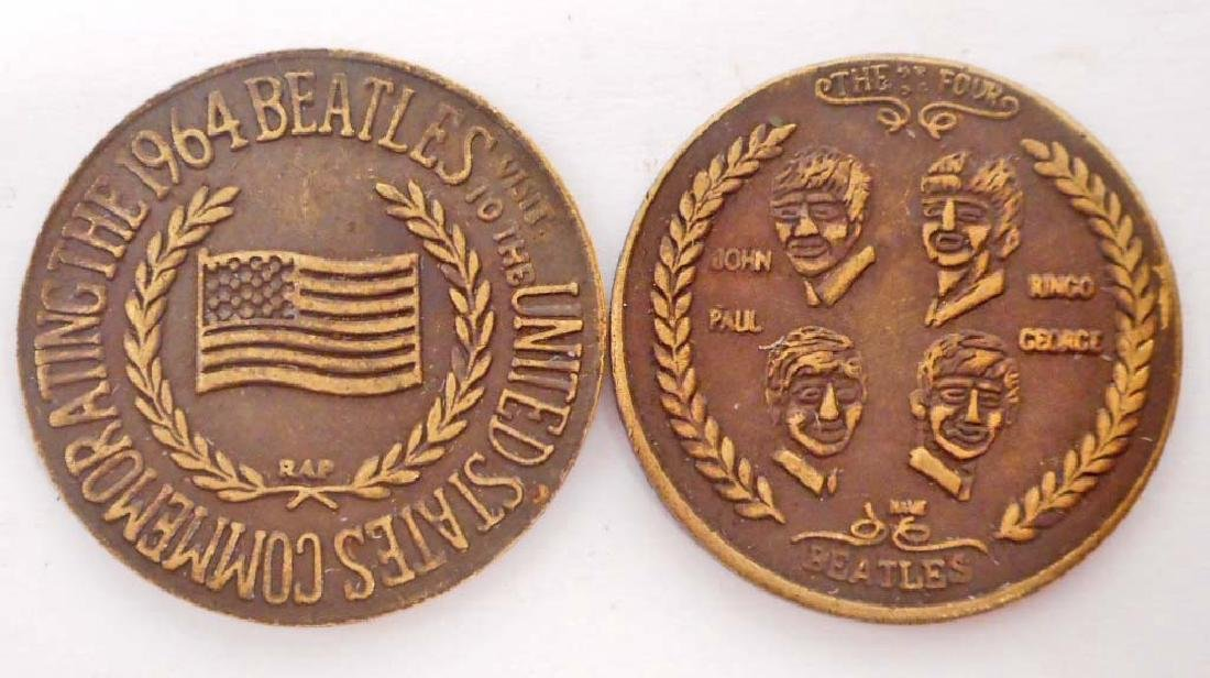 BEATLES COMMEMORATIVE COIN