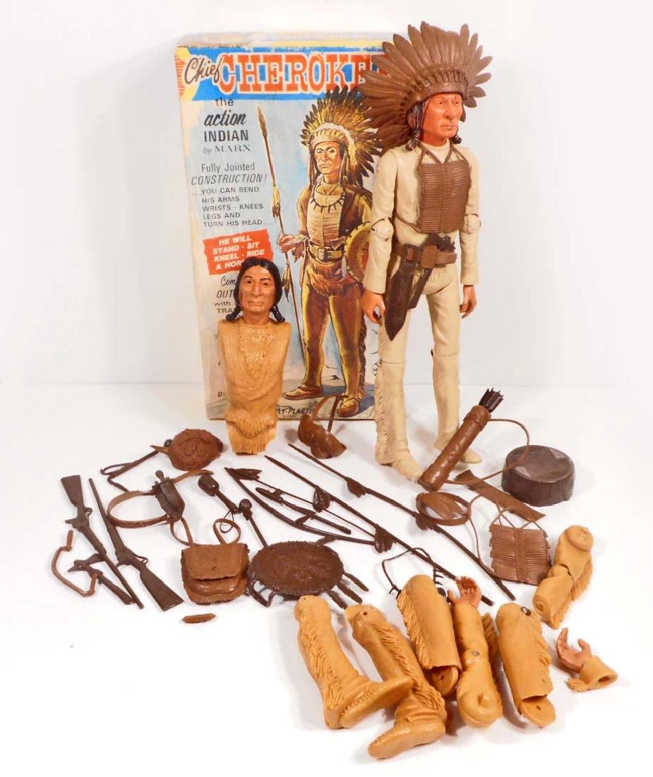 VINTAGE MARX JOHNNY WEST CHIEF CHEROKEE ACTION FIGURE