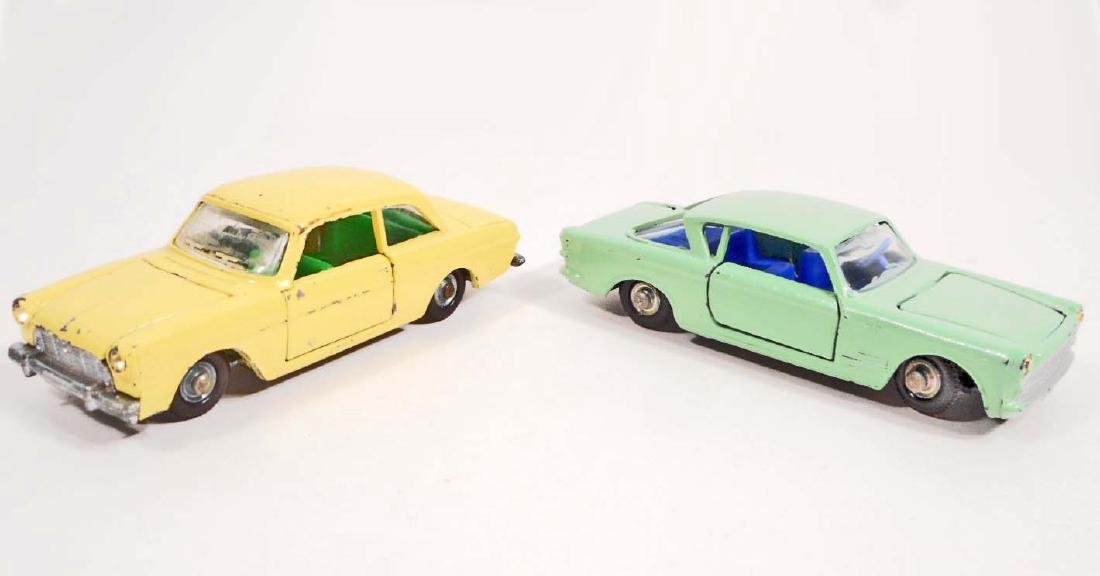 LOT OF 2 VINTAGE ROAD MASTER IMPY DIE-CAST TOY CARS