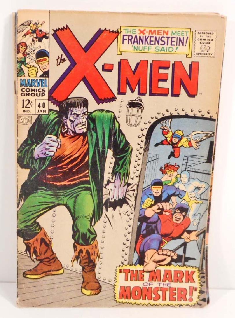 1967 X-MEN NO. 40 COMIC BOOK W/ 12 CENT COVER