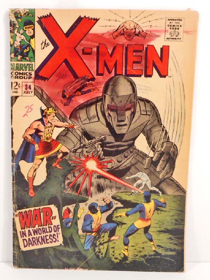 1967 X-MEN NO. 44 COMIC BOOK W/ 12 CENT COVER