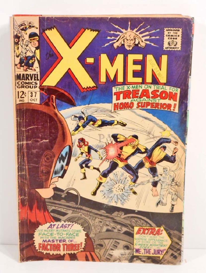 1967 X-MEN NO. 37 COMIC BOOK W/ 12 CENT COVER