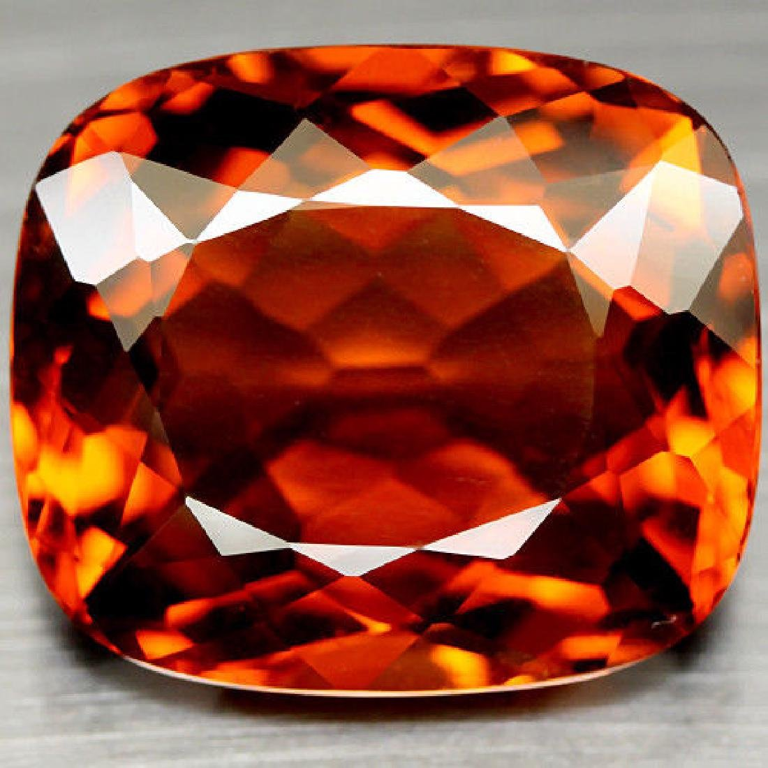 39.40 CT AAA! MADEIRA BRAZILIAN CITRINE CUSHION