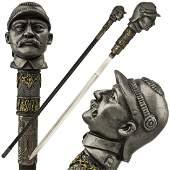 Soldier Walking Cane with Hidden Sword