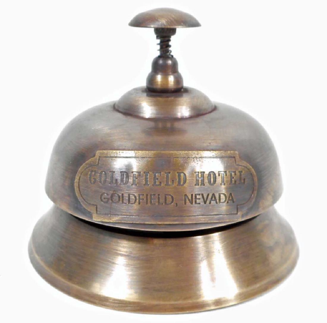 GOLDFIELD NEVADA HOTEL DESK BELL