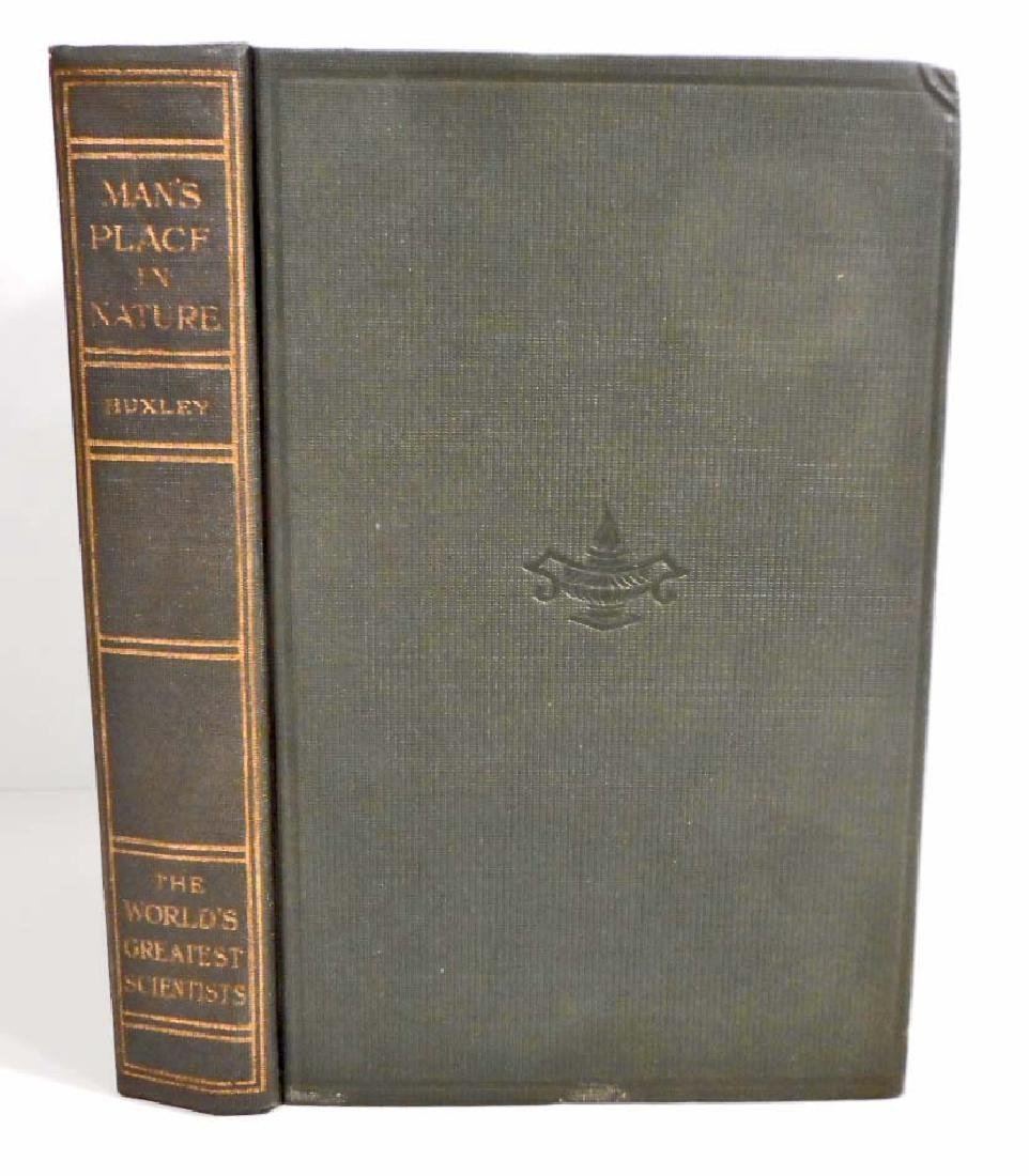 1915 WORLDS GREATEST SCIENTISTS HUXLEY HARDCOVER BOOK