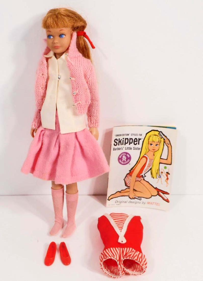 C. 1960'S SKIPPER BARBIE DOLL