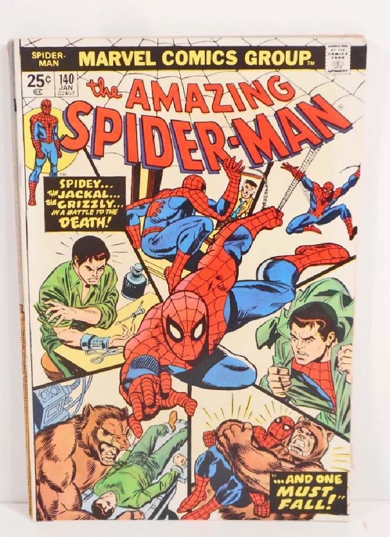 1975 AMAZING SPIDER-MAN NO. 140 COMIC BOOK W/ 25 CENT