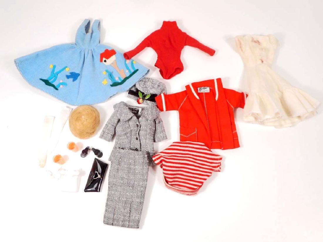 LOT OF VINTAGE 1960'S MATTEL BARBIE DOLL CLOTHES