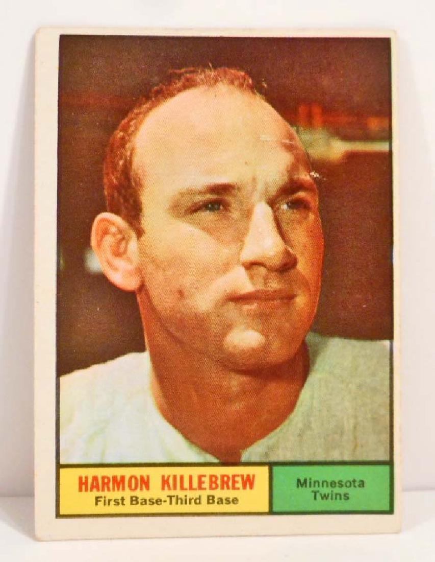 1961 TOPPS HARMON KILLEBREW NO. 80 BASEBALL CARD