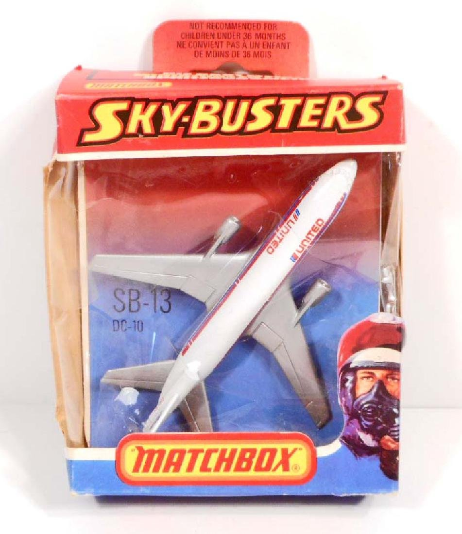 VINTAGE 1978 SKY BUSTERS MATCHBOX AIRPLANE TOY IN THE