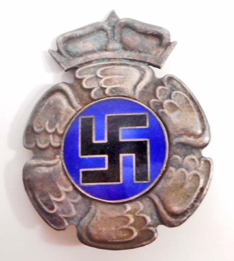 GERMAN NAZI FINLAND LUFTWAFFE AXIS PILOT BADGE