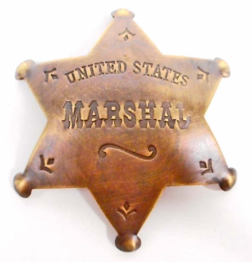 UNITED STATES MARSHAL 6 POINT STAR BADGE