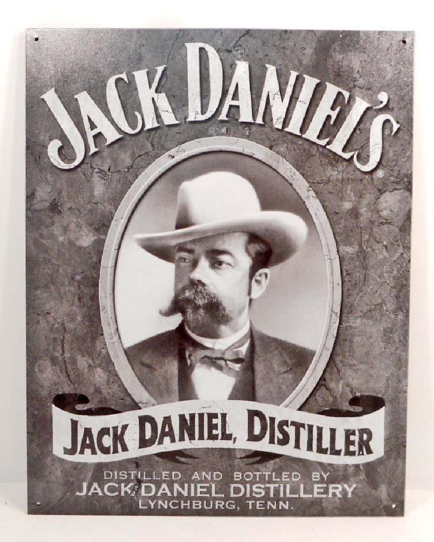 JACK DANIELS ADVERTISING METAL SIGN
