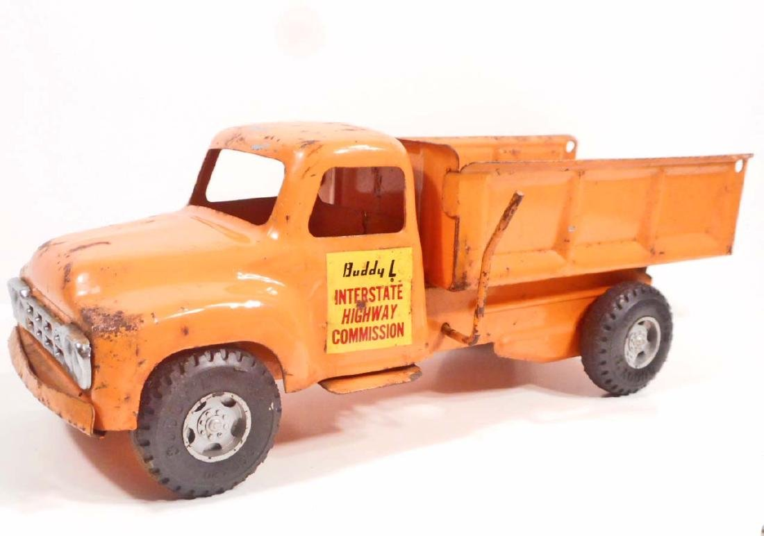 RARE BUDDY L INTERSTATE HIGHWAY COMMISSION TOY DUMP
