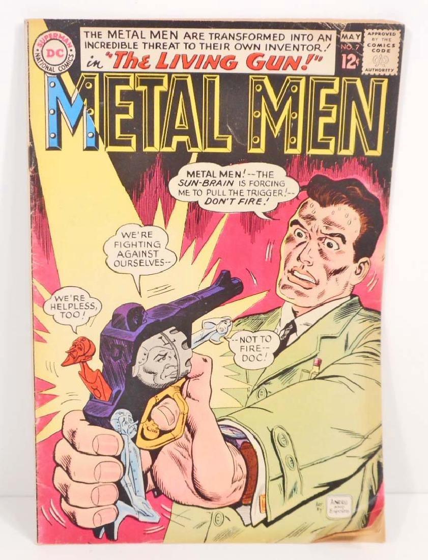 VINTAGE 1964 METAL MEN #7 COMIC BOOK - 12 CENT COVER