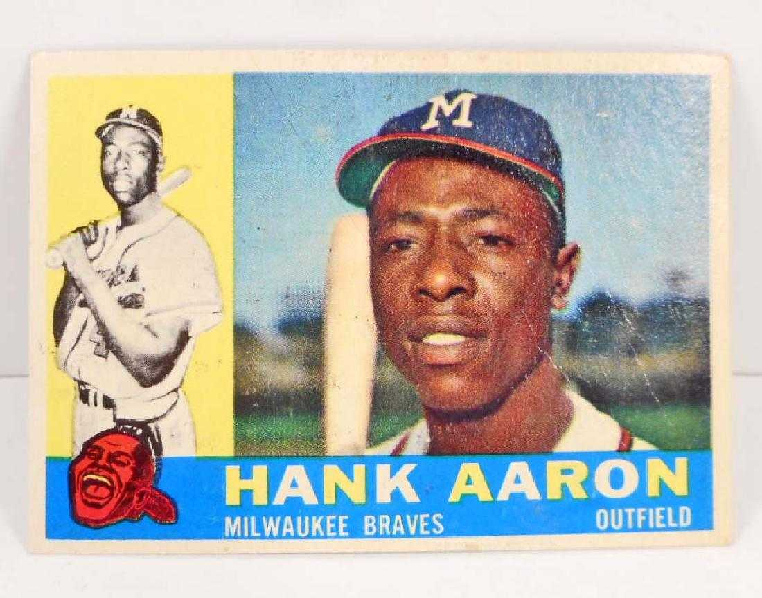 1962 Post Cereal Hank Aaron No 149 Baseball Card On Liveauctioneers