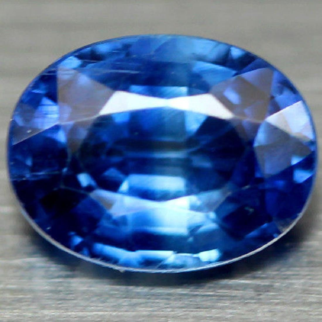 0.92 CT NATURAL! BLUE NEPAL KYANITE OVAL