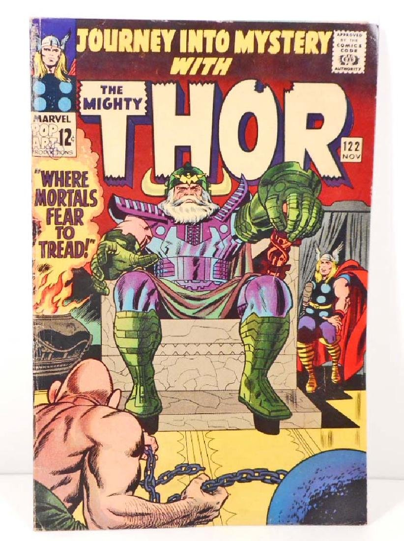 1965 JOURNEY INTO MYSTERY THOR NO. 122 COMIC BOOK