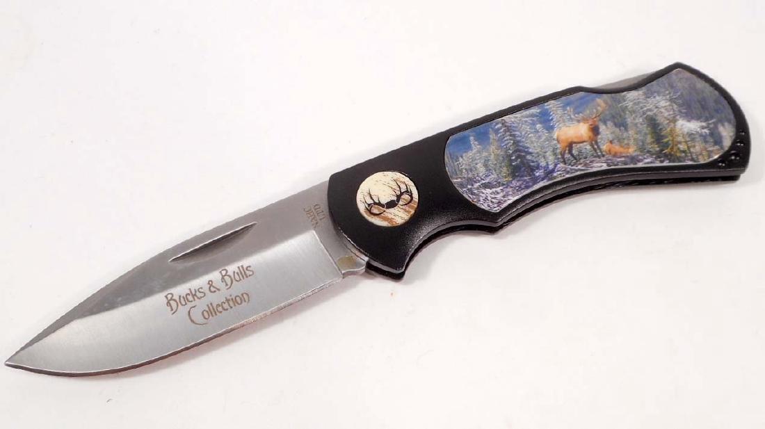 ELK LOCKBACK KNIFE - NORTH AMERICAN HUNTING CLUB