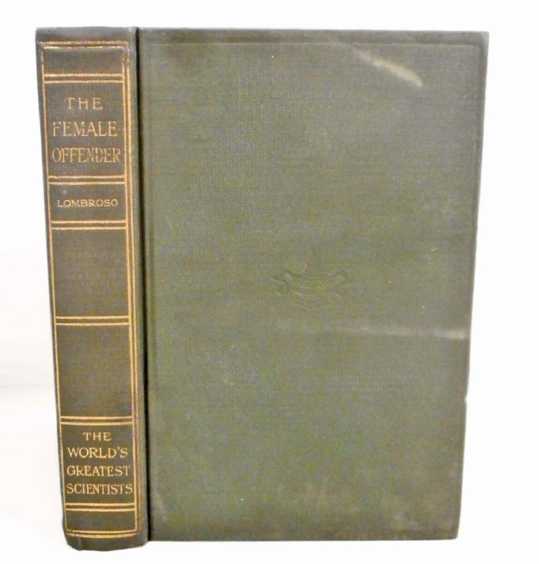 1915 WORLDS GREATEST SCIENTISTS LOMBROSO HARDCOVER BOOK