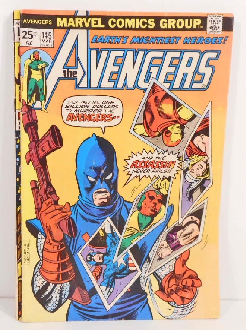 1975 THE AVENGERS #145 MARVEL COMIC BOOK - 25 CENT