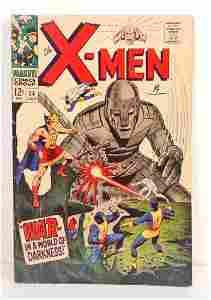 1967 THE X-MEN NO. 34 COMIC BOOK - 12 CENT COVER